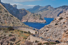 Nur noch 60 km/h auf der Tramuntana-Transversale auf Mallorca
