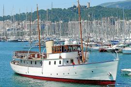 Bedeutendes Weltkriegs-Schiff erreicht Hafen von Palma de Mallorca