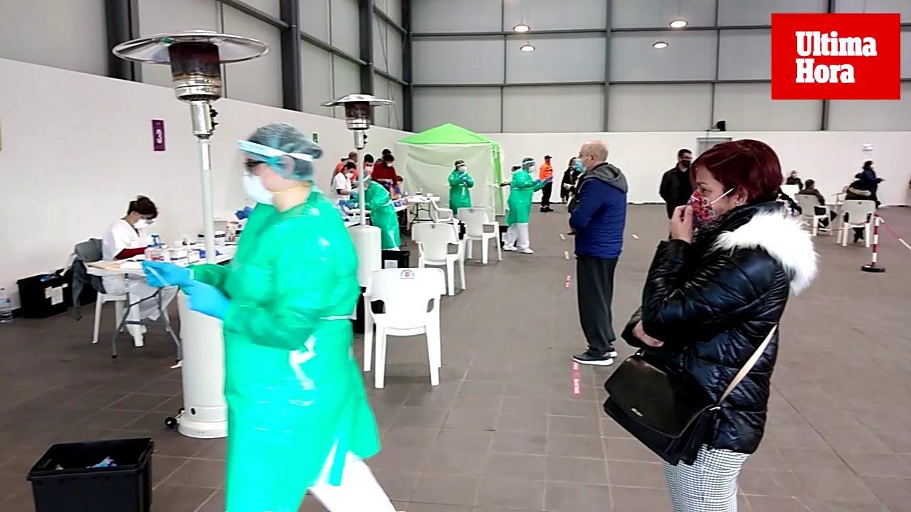 Einwohner des Corona-Hotspots Sa Pobla lassen sich massiv testen