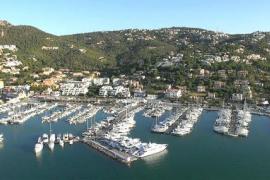 Wellenschutz in Port d'Andratx wird repariert