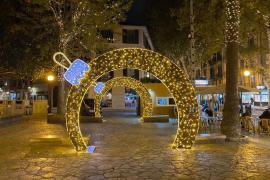 Weihnachtsbeleuchtung in Palma de Mallorca: Um 22 Uhr wird jetzt abgeschaltet
