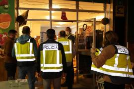 Polizei löst zahlreiche illegale Partys in Palma de Mallorca auf