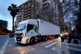 1500 LKW-Fahrer drohen mit Blockade des Paseo Marítimo