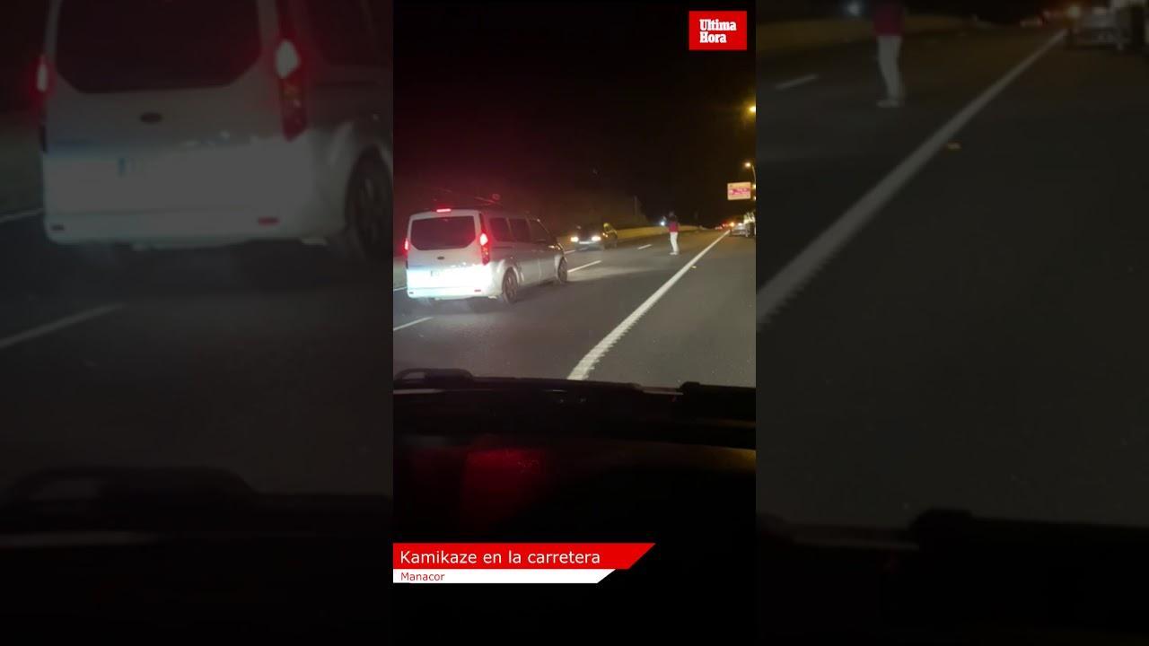 Autofahrer stoppen Geister-Pkw auf Schnellstraße zwischen Palma und Manacor