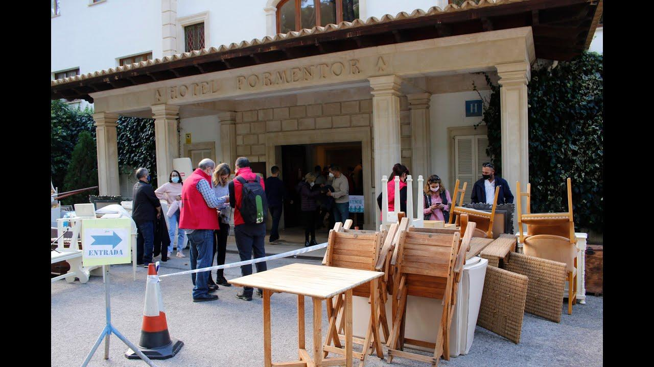 Inventar vom Hotel Formentor zum Verkauf angeboten