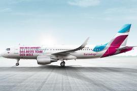 """""""Teamflieger"""" von Eurowings steuert auch Mallorca an"""
