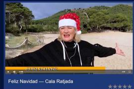 Cala Rajada grüßt mit klingendem Weihnachtsgruß von Mallorca