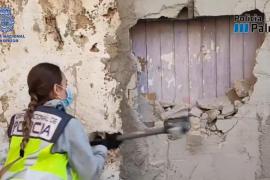 Polizei entdeckt Drogen-Bunker auf Mallorca