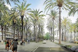 So lange soll der Umbau des Paseo Marítimo in Palma dauern