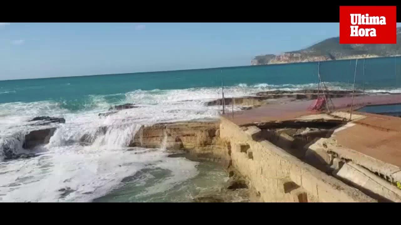 """Wintersturm """"Bella"""" zerstört Ex-Kult-Chiringuito auf Mallorca vollends"""