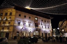 Palma de Mallorca zieht das Ausschalten der Festbeleuchtung vor