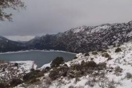 """Wieder Autokarawanen von """"Schnee-Schauern"""" auf Mallorca unterwegs"""