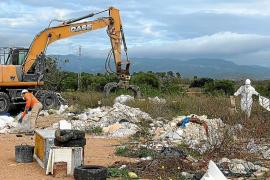 Offensive gegen illegale Müllhalden in Marratxí