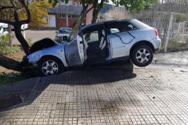 Spektakulärer Unfall mit Happyend in Calvià