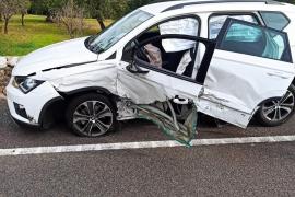 Autofahrer am Steuer eingeschlafen - vier Verletzte in Bunyola