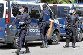 Zwei Maskenverweigerer in Palma verhaftet