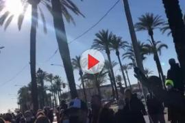 Trotz Verbot: Etwa 1500 Personen protestieren auf Mallorca gegen Bar-Schließungen