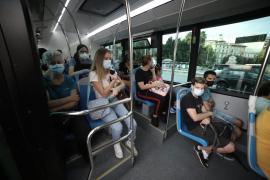 Bus-Passagiere auf Mallorca sollen nicht sprechen