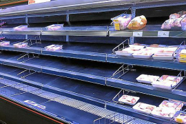 Irrationales Verhalten von Supermarkt-Kunden auf Mallorca moniert