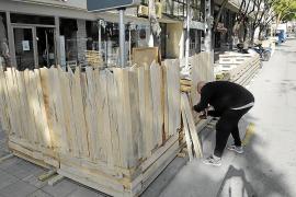 Erhöhte Terrassenkonstruktionen dürfen in Palma nun doch bleiben