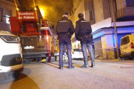 Besetztes Haus auf Mallorca geht in Flammen auf