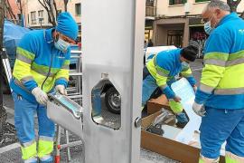 Neue Trinkwasserspender in Palma de Mallorca