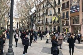 Friseure auf Mallorca ignorieren Demonstrations-Verbot