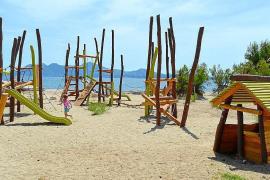 Keine Spielplätze mehr auf Stränden im Norden von Mallorca