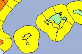 Auch im Westen und Süden gilt Warnstufe Gelb.