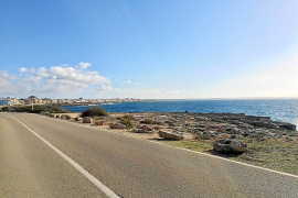 Felsbrocken gegen Camper auf Mallorca