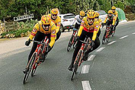 Nur sehr wenige Radprofis trainieren auf Mallorca