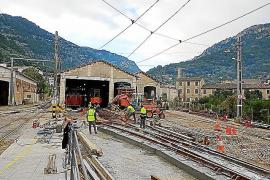 Sóller-Bahn nimmt Betrieb eingeschränkt wieder auf