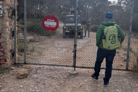 Militärübung behindert Wanderer auf Mallorca