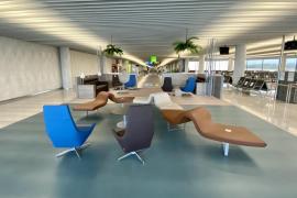 Neuer Komfortbereich im Flughafen von Mallorca eingerichtet