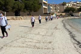 Protestwanderung der SOS Tourismus-Initiative auf Mallorca