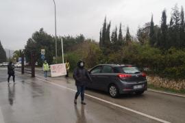Verkehrschaos in Palma wegen Demonstration für Rapper Hasél