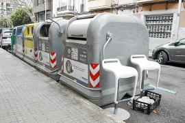 Ramponierte Müllcontainer ärgern Palmas Bürgermeister