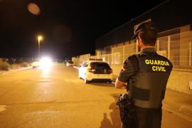 Illegale nächtliche Autorennen nahe Calvià veranstaltet