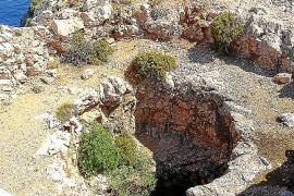 Sturzgefahr in Höhlen bei Pollença