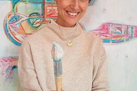 Diese Deutsche ist auf Mallorca mit spiritueller Kunst erfolgreich