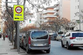 In diesen Straßen in Palma werden Autofahrer am häufigsten geblitzt