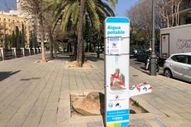 Stadt Palma wirbt dafür, Leitungswasser zu trinken