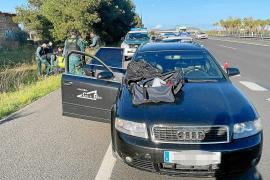 Krimineller auf Inca-Autobahn nach Verfolgungsjagd festgenommen