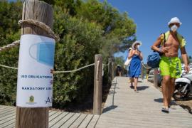 Spanien verschärft Maskenpflicht an sämtlichen Stränden
