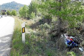 Motorradfahrer nach Unfall in Andratx spurlos verschwunden