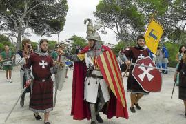 Sagenumwobene Anlandung des Erobererkönigs im heutigen Peguera?
