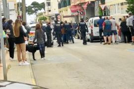 Angreifer von Polizisten in Cala Rajada ergeben sich