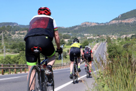 Auto überrollt Radfahrer in Palma de Mallorca