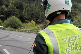 Guardia Civil stoppt Motorradfahrer mit 154 km/h auf Mallorca
