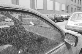 Schlammregen geht über Mallorca nieder